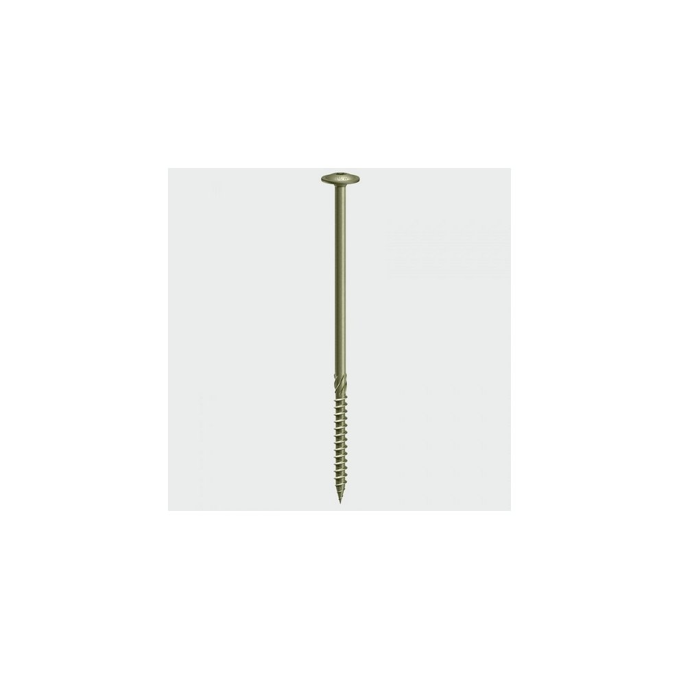 TIMco 150INDEXWP Index Timber Screw Wafer Head Green 6 7 x 150mm Bag of 4