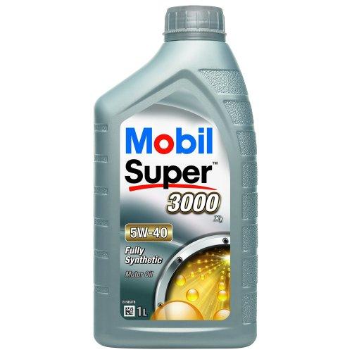 Mobil 1 150564 Super 3000 X1 5W-40 Low-Viscosity Engine Oil 1 Litre