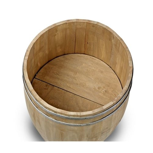 Medium Wooden Display Beer Barrel