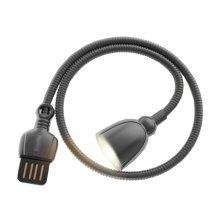 USB Night Light Mini USB Reading Lamp Table LED Lamp For Laptop(Black)