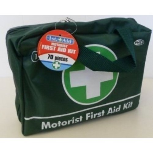 Jumbo Deluxe Motoristsmedical First Aid Kit 70 Piece Complete Green 1st Aid -  aid first kit 70 piece 1st medical jumbo deluxe complete green