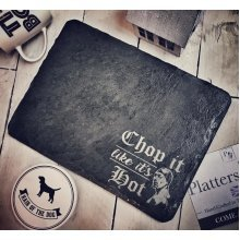 Chop It Like It's Hot | Cheese Board And Chopping Board - 30x22cm