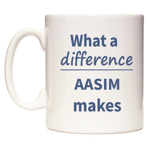 What a difference AASIM makes Mug
