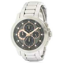 Michael Kors Ryker Stainless-Steel Chronograph Mens Watch MK8528