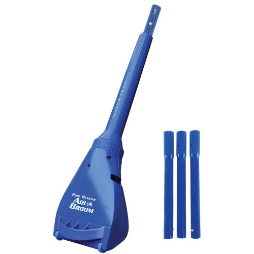 Water-Tech Pool Blaster Aqua-Broom Cleaner, Rechargeable Pool and Hot Tub Cleaner