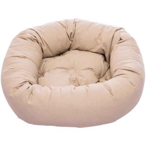 Dog Gone Smart Donut Bed Sand 107cm