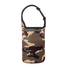 Lovely Baby Bottle Tote Bag Food Jar Tote Bag Lunch Box Bag Camouflage