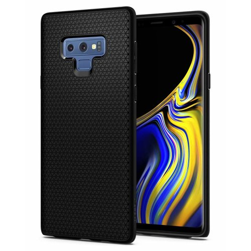 Spigen Liquid Air Armor Galaxy Note 9 Case with Durable Flex and Easy Grip Design for Samsung Galaxy Note 9 (2018) - Matte Black