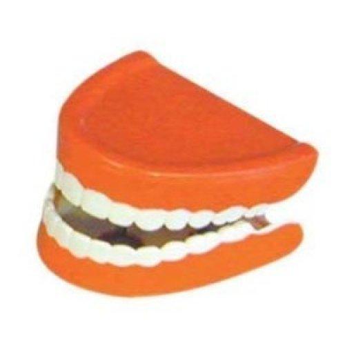 Chatter Choppers - Teeth Joke Funny Fancy Dress Wind Up Accessory Toy -  teeth chatter choppers joke funny fancy dress wind up accessory toy