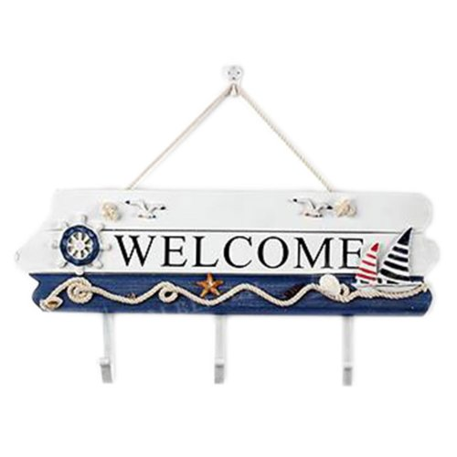 Wooden Hanging Hook Clothes/Keys/Hats Hook Home Decoration Personalized Wall Shelf Row Hook #10
