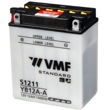 VMF Powersport Battery 12 V 12 Ah YB12A-A/12N12A-4A-1