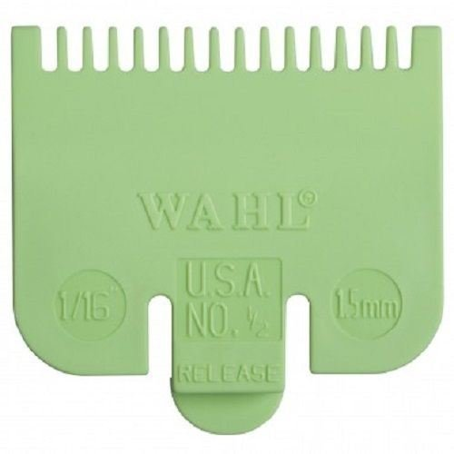 Wahl Standard Fitting Attachment Comb No1/2 1.5mm Green