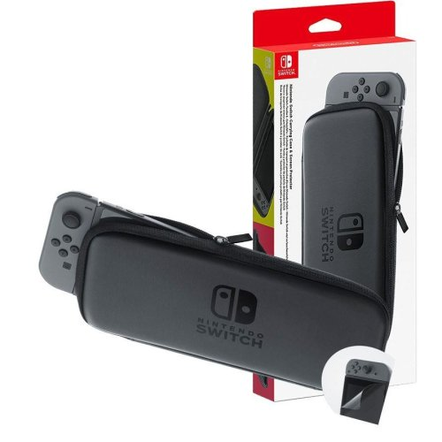 Nintendo Switch Joy-Con Accessory Set - Carrying Case + LCD Protection Sheet
