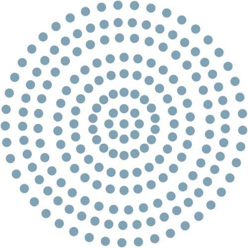 3 mm Self Adhesive Pearls - Cornflower Blue, 206 per Pack
