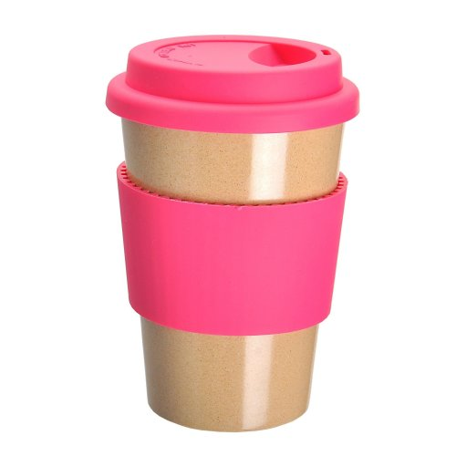 OLPRO Husk BreakTime Re-Useable Beaker - Pink