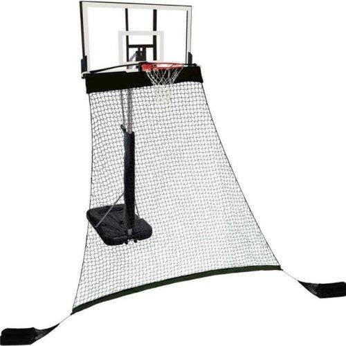 Hathaway BG3403 Rebounder Basketball Return System for Shooting Practice, Black