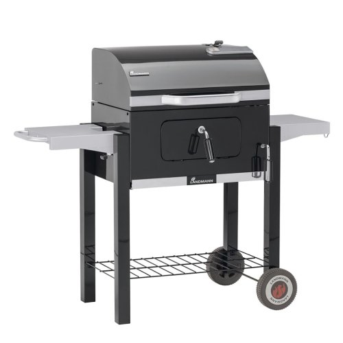 Landmann Charcoal Wagon Barbecue BBQ Grill Outdoor Dorado 56x42 cm Black 31401