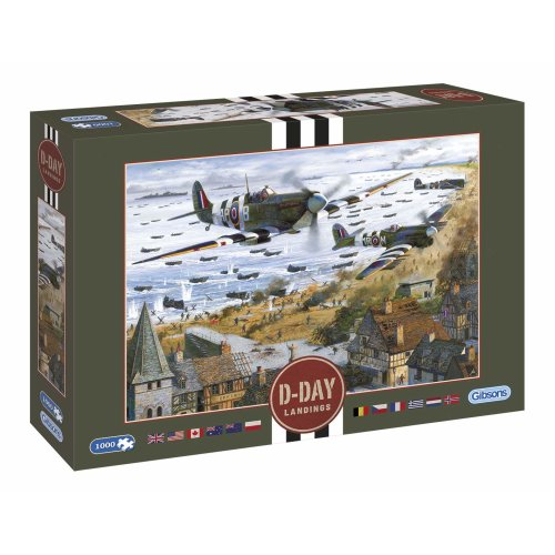 Gibsons D-Day Landings 1000Pc Jigsaw Puzzle