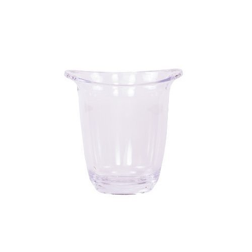 Epicurean Europe Limited 22 x 12.5 x 21.5cm Acrylic San Bandeau Chiller - -  epicurean barware acrylic champagne bucket