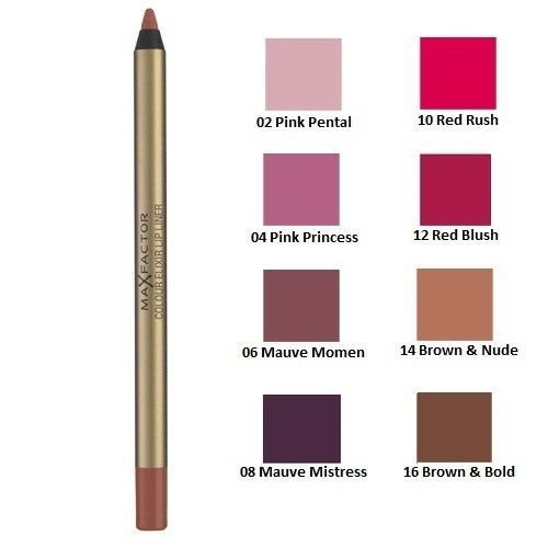 Max Factor Colour Elixir Lip Liner - Choose From 8 Shades