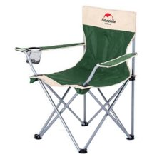 Portable Folding Chair Stool Camping Chairs Fishing Travel Paint Outdoor Armchair - Dark Green