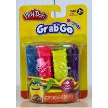 Play Doh Classic Grab N Go Brights- 6 Fun Colors