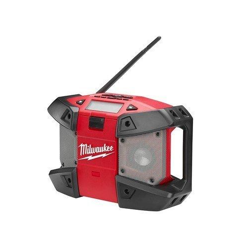 Milwaukee 4933416373 C12 JSR-0 Compact Jobsite Radio 240 Volt & 12 Volt Li-Ion Bare Unit