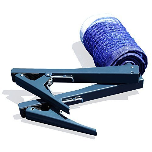 Hathaway Deluxe Table Tennis EZ Clamp Clip-On Post and Net Set