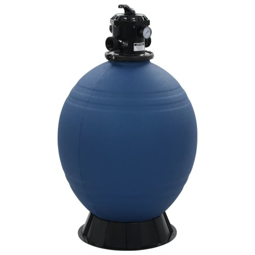 vidaXL Pool Sand Filter with 6 Position Valve Blue 660mm Hot Tub Spa Pump