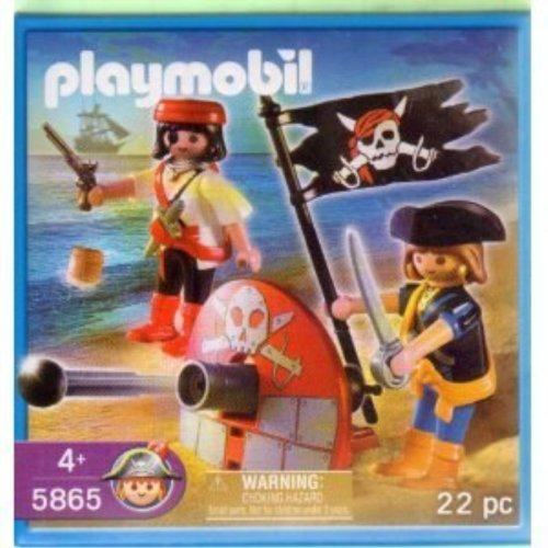 Playmobil 5865 Pirate Playset: Pirates with Cannon