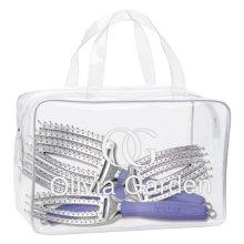 Olivia Garden FB-DL01 3pcs Fingerbrush Collection Bag Set