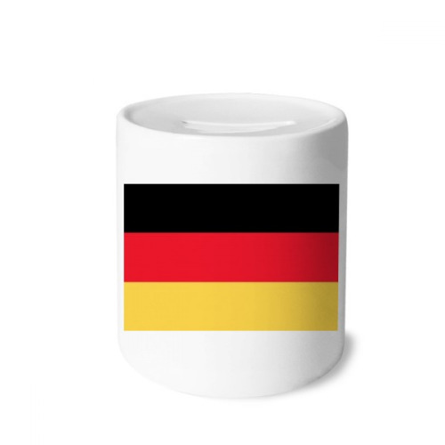 Germany National Flag Europe Country Money Box Saving Banks Ceramic Coin Case Kids Adults