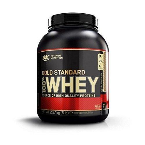 Optimum Nutrition Gold Standard 100% Whey Protein 2.27 kg, Caramel Toffee Fudge