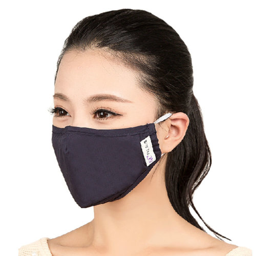 PM2.5 Anti-bacterial Filtering Earloop Mouth Face Mask + 4 Filter Set, Black