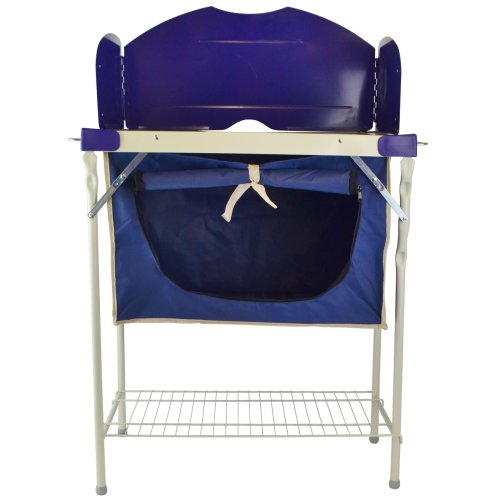 Camping and Kitchen Store Multipurpose Storage Bag Prep Area Steel Frame CMP27