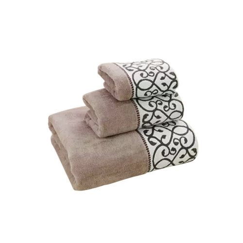 Soft Hotel/Spa Bath Towel,Strong Absorbency,Combed Cotton(Brown)