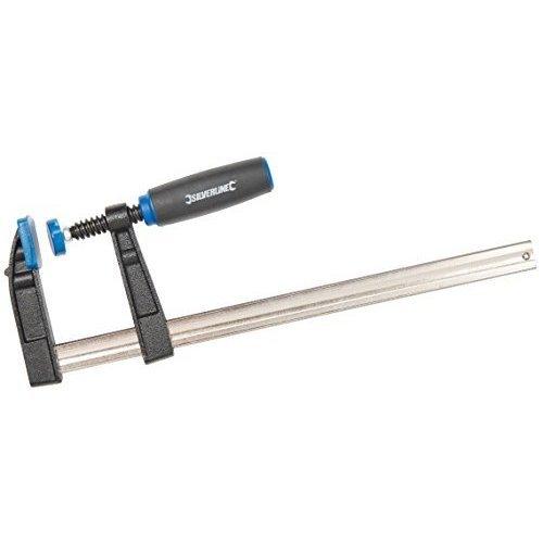 Silverline F-clamp Heavy Duty 300 x 80mm -  silverline heavy fclamp duty x 80mm 300 633820 woodwork g