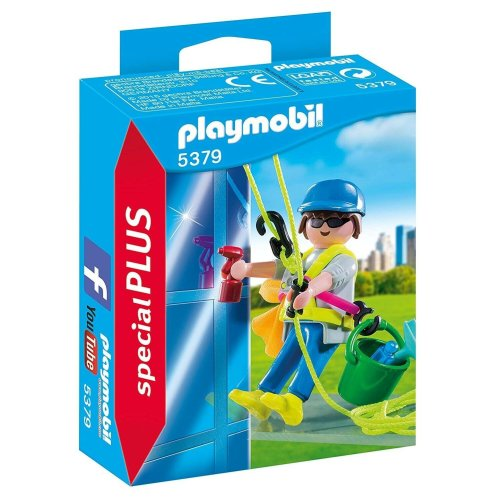 Playmobil Special Plus Window Cleaner