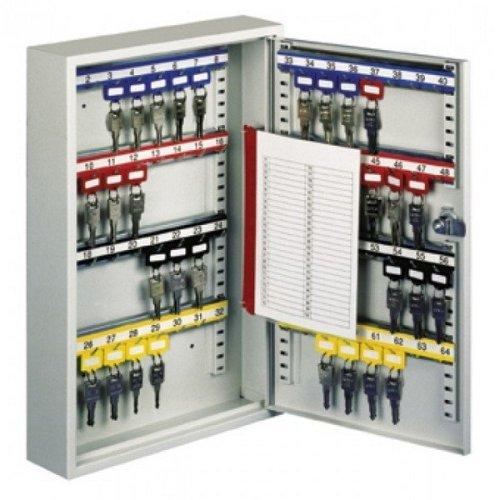 Large Key Cabinet Wall Mounted Key Hooks 64 Keys Rottner