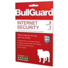 Bullguard Internet Security 2019 Retail, 3 User (Single), Multi Device Licence, 1 Year