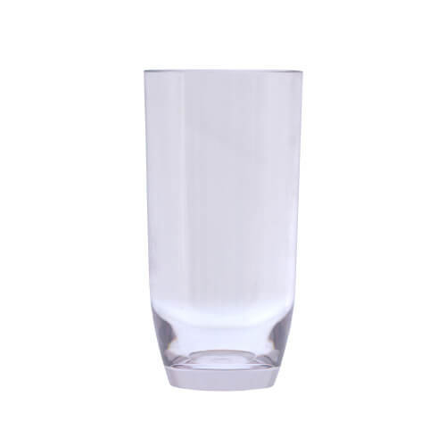 Epicurean Acrylic Curve Base Hi Ball Tumbler, Transparent