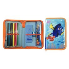 Finding Dory Single Zip Filled Pencil Case - Official Gift Licensed Product -  finding dory single zip filled pencil case official gift licensed