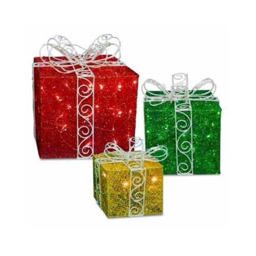 National Tree 208466 Hw Led Gift Box Set DF-100001