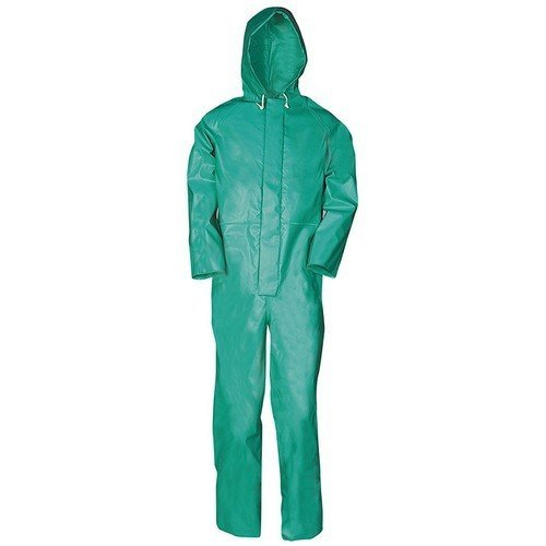 Sioen CCHGL Weatherproof Chemtex Coverall Green Large