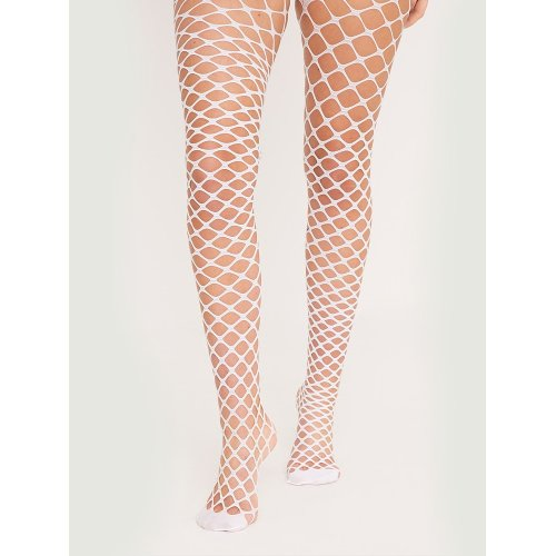 "Silky Scarlet Whale Net stockings black one size 5'0"" - 5'8"""