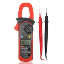 UNI-T UT204 Auto Range Digital Clamp Meters Multimeter for 40~400A AC/DC Current Measurement