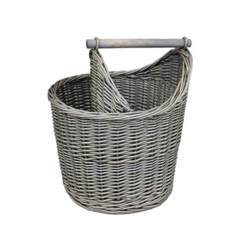 Wicker Bathroom Basket