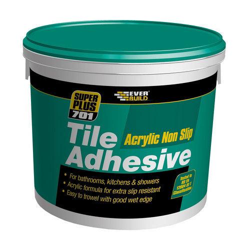 Everbuild 701 Non Slip Tile Adhesive 5 Litre