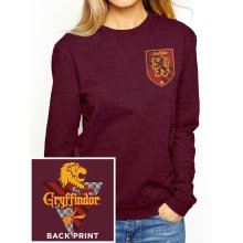 Large Red Ladies Harry Potter House Gryffindor Sweatshirt -