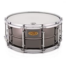 WorldMax 14'' x 6.5'' Black Nickel Over Brass Snare Drum